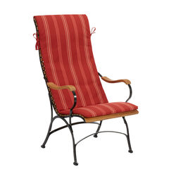 "Auflage Bellevue Sessel Dessin ""Cranberry Stripes"""