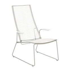 Pan Lounge Chair Weiß